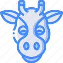 animal, avatar, avatars, giraffe icon