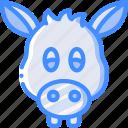 donkey, avatar, animal, avatars