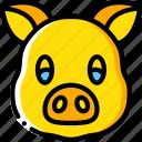 animal, avatar, avatars, pig icon