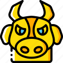 animal, avatar, avatars, bull icon