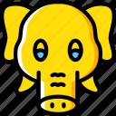 animal, avatar, avatars, elephant icon