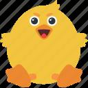 animal, chick, emoji, emoticon, emotion, evil icon