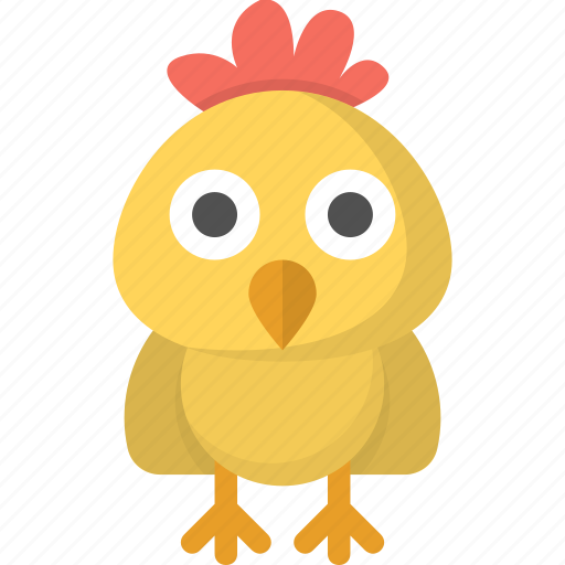 bird, chick, chicken, egg, emoji icon