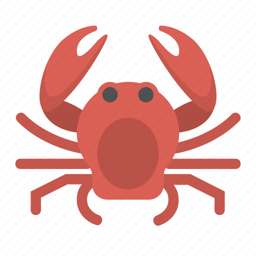 animal, crab, creature, crustacean, ocean, sea, seafood icon
