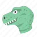 dinosaur, carnivore, fossil, predator, tyrannosaurus, animal, wild
