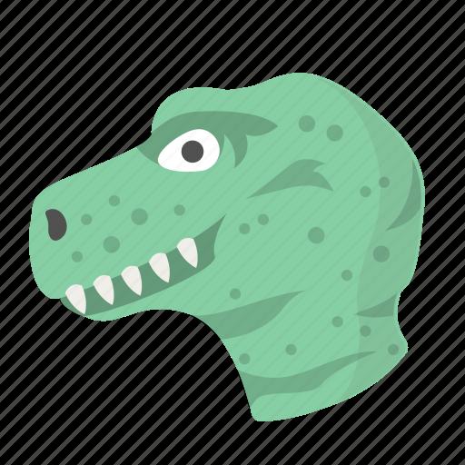 animal, carnivore, dinosaur, fossil, predator, tyrannosaurus, wild icon