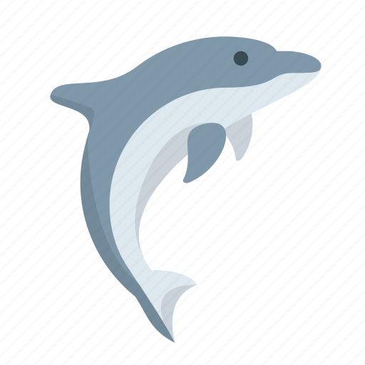 dolphin, fish, marine, nautical, ocean, whale, wildlife icon