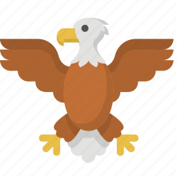 america, american, bird, eagle, independence, united states, us icon