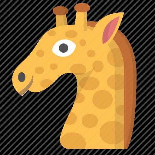Africa, animal, emoji, giraffe, safari, wildlife, zoo icon