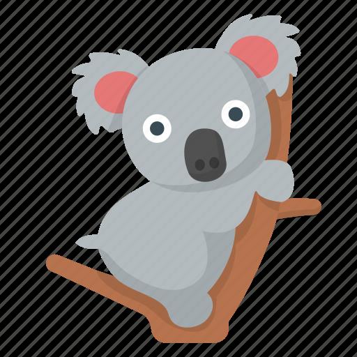 animal, australia, cute, koala, outback, safari, zoo icon