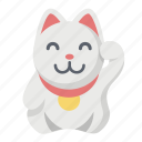 cat, cute, feline, kitty, luck, lucky, mataneko