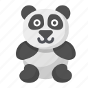 panda, cute, wildlife, animal, bear, zoo
