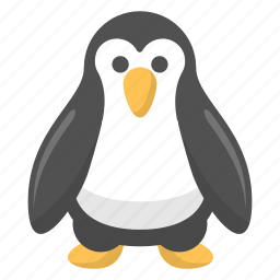 animal, artic, penguin, snow, tuxedo, winter, zoo icon