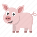 pig, pork, farm, bacon, savings, animal, bank