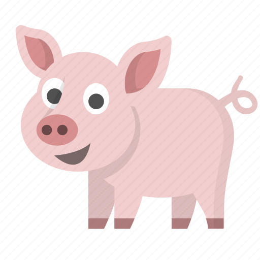 animal, bacon, bank, farm, pig, pork, savings icon