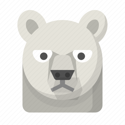 artic, bear, freezing, northpole, polar, wildlife, winter icon