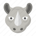 rhino, rhinoceros, wild, wildlife, safari, zoo
