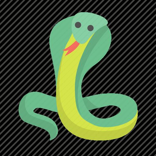 cobra, danger, poison, reptile, serpent, snake, viper icon