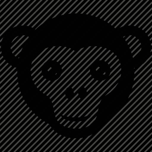 baboon face, cartoon animal, macaque, monkey, monkey face icon