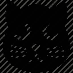 animal, cartoon animal face, cartoon kitty face, kitty, kitty face icon