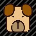animal, carnivore, cartoon, dog, house pet, pet, zoo