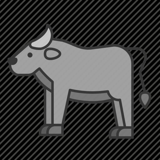 animal, buffalo, mammal, wildlife, zoo icon