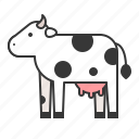 animal, cow, mammal, wildlife, zoo icon
