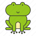 animal, frog, reptile, wildlife, zoo icon