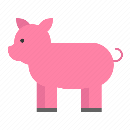 Animal, mammal, pig, wildlife, zoo icon - Download on Iconfinder