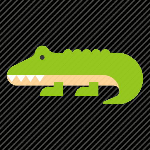 animal, crocodile, reptile, wildlife, zoo icon