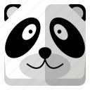 animal, panda, wild, zoo icon