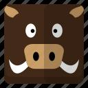 animal, wild, wild boar, zoo