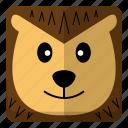 animal, porcupine, wild, zoo