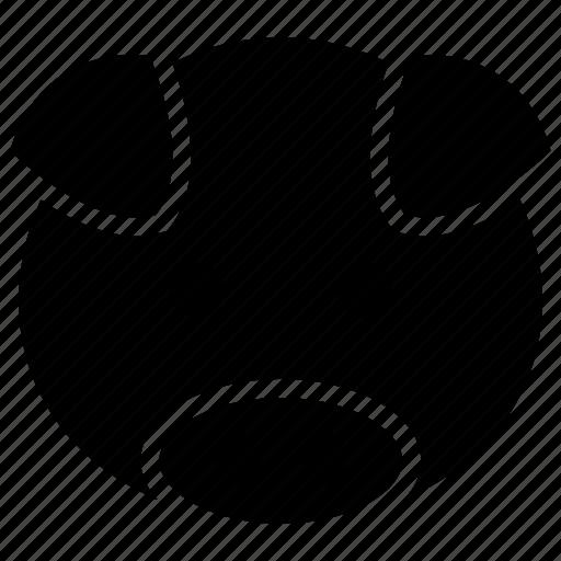 cartoon, face, head, pig icon