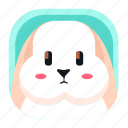 animal, app, bunny, pet, rabbit, wildlife, zoo icon