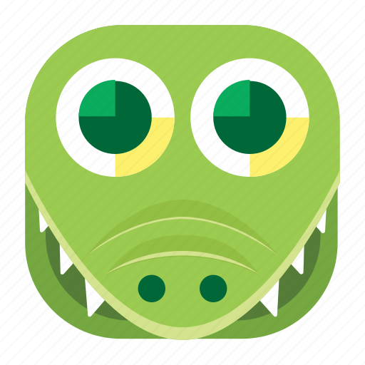 aligator, animal, app, crocodile, pet, wildlife, zoo icon