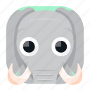 animal, app, elephant, pet, wildlife, zoo icon