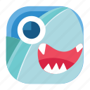 animal, app, fish, sea, shark, wildlife, zoo icon