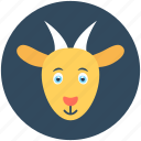 animal, chamois, goat, goat baby, mammal icon