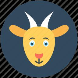 animal, chamois, goat, goat baby, mammal icon