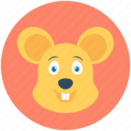 field mouse, jerboa, mouse, rat, shrew icon