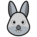 animal, coelho, rabbit, rabbits icon