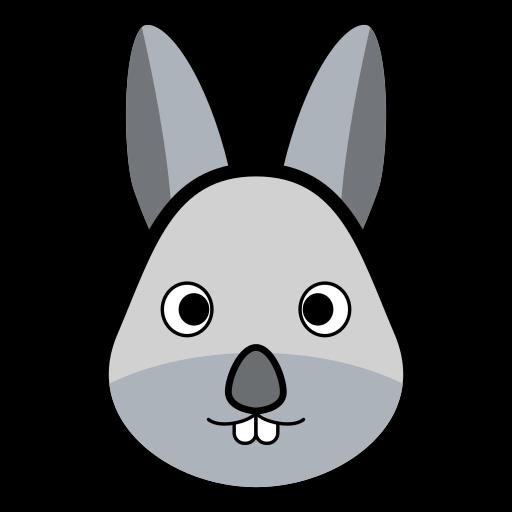 Animal, coelho, rabbit, rabbits icon - Free download