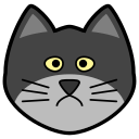 animal, cat, cats, gato, icon icon