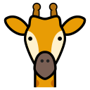 animal, girafa, giraffe, giraffes, icon icon
