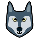 animal, lobo, wolf, wolfs icon