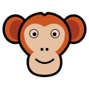 animal, ape, apes, icon, macaco, monkey, monkeys icon