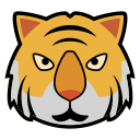 animal, icon, tiger, tigers, tigre icon