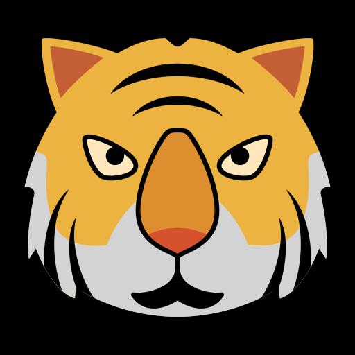Animal, tiger, tigers, tigre icon - Free download