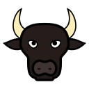 animal, bull, bulls, icon, touro icon